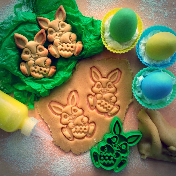 Medium Easter Bunny Cookie Cutter 3D Printing 16291