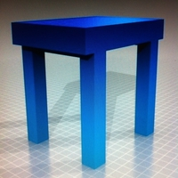 Small High table 3D Printing 163014