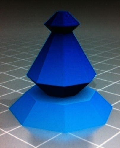 Pawn of chess 3D Print 163015