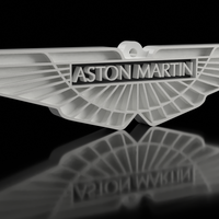 Small Aston Martin Keychain 3D Printing 163038