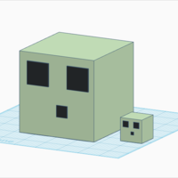 Small SLIMES(Minecraft) 3D Printing 163086