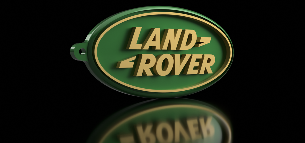 Land Rover Keychain 3D Print 163166