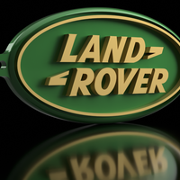 Small Land Rover Keychain 3D Printing 163166