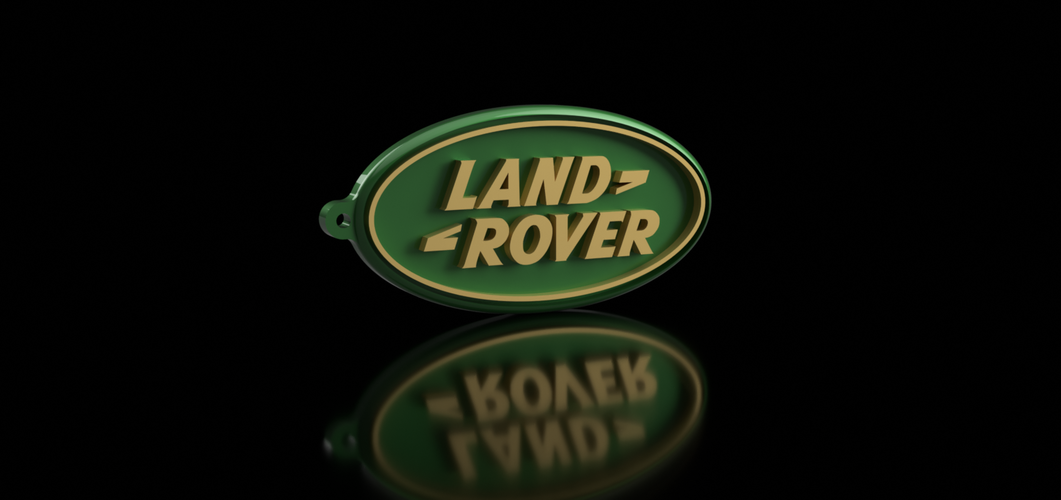 Land Rover Keychain 3D Print 163167