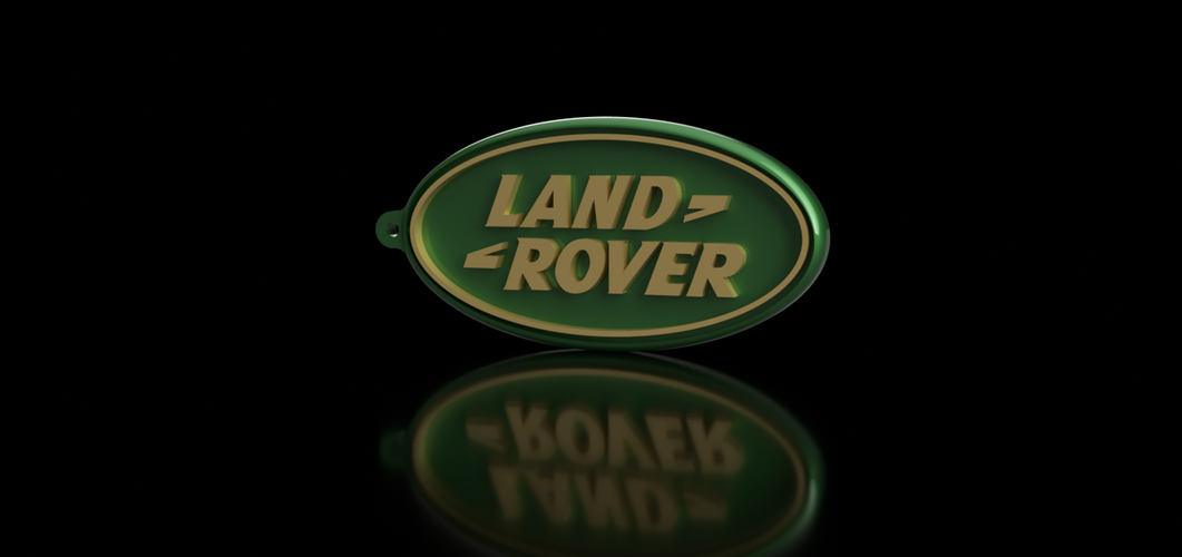 Land Rover Keychain 3D Print 163168