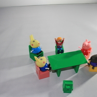 Small Mesa para jugar, play table, resistente dura, Hard. 3D Printing 163237