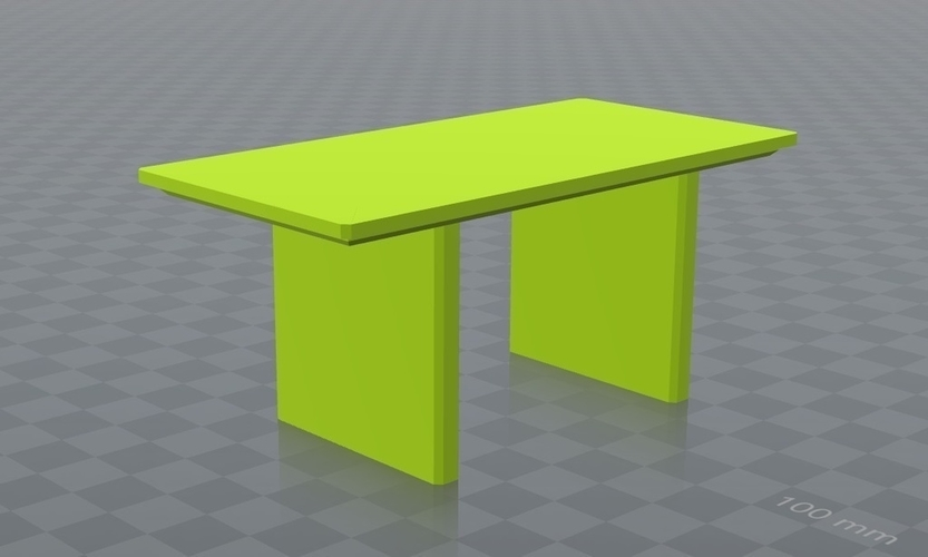 Mesa para jugar, play table, resistente dura, Hard. 3D Print 163238