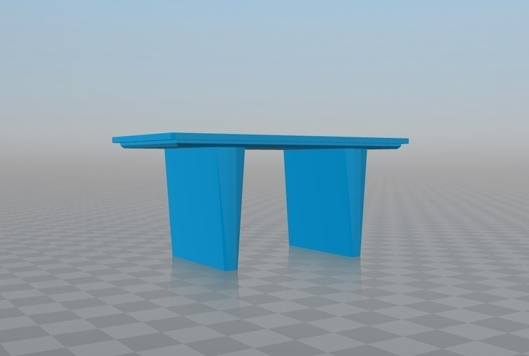 Mesa para jugar, play table, resistente dura, Hard. 3D Print 163240