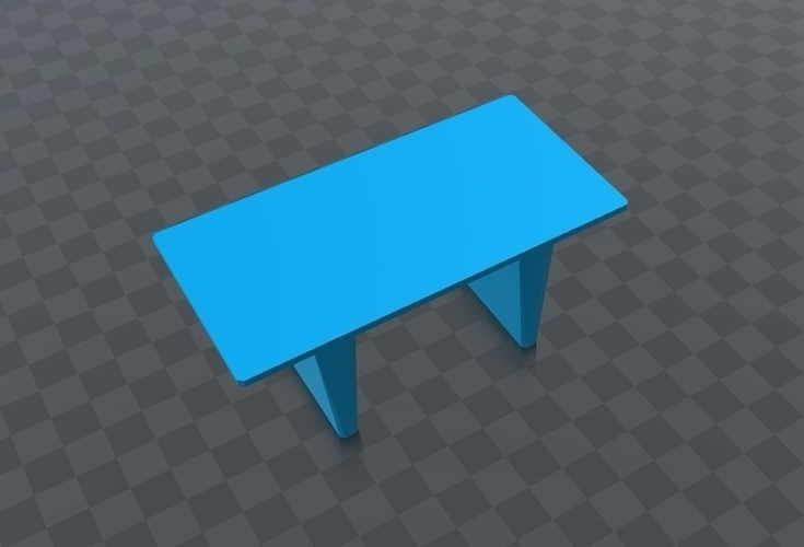 Mesa para jugar, play table, resistente dura, Hard. 3D Print 163241