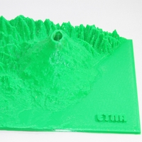 Small Volcan Etna Italia 3D Printing 163252
