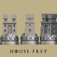 Small Game of thrones Frey Marker reproduction 3D Printing 163369