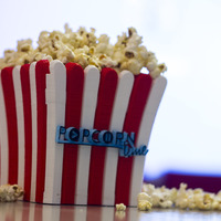 Small Popcorn time bucket 3D Printing 16349