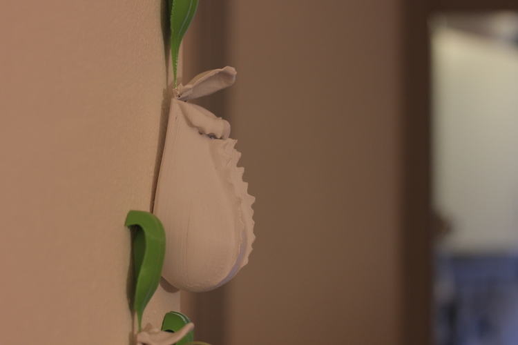 Nepenthes wall decoration 3D Print 16363