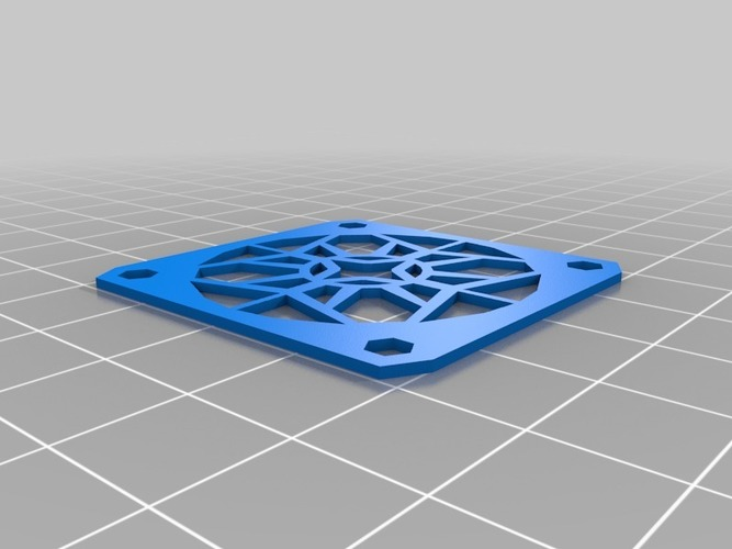Leapfrog Creatr - Fan (re)mount 3D Print 16377