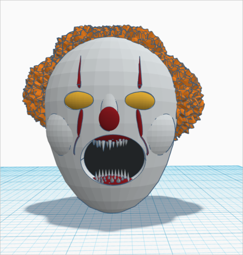 PennyWise the Dancing clown(IT). work in progress : Preview 3D Print 163777