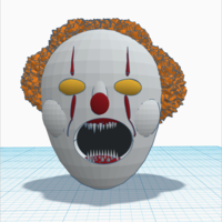 Small PennyWise the Dancing clown(IT). work in progress : Preview 3D Printing 163777
