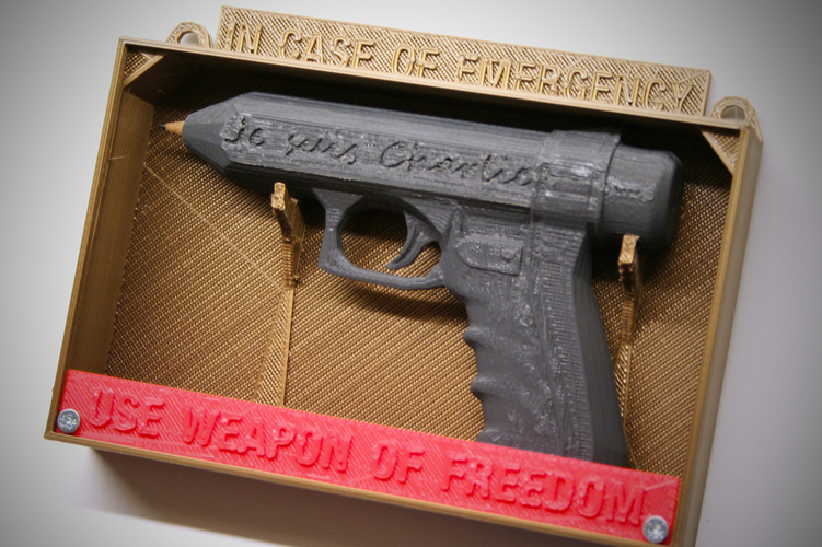 Weapon of Freedom: Je Suis Charlie 3D Print 16378