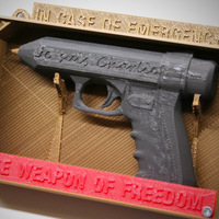Small Weapon of Freedom: Je Suis Charlie 3D Printing 16378