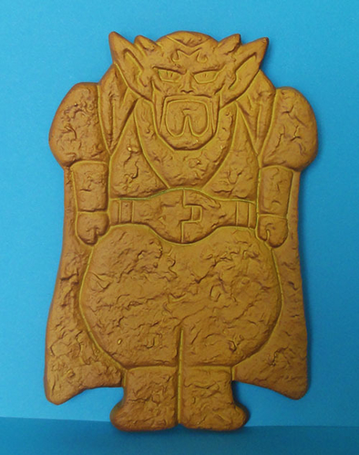 Dabura, Dragon ball z cookie cutter  3D Print 163784