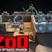 Small Z.O.D Terrain Tiles (Core Set) 3D Printing 163843