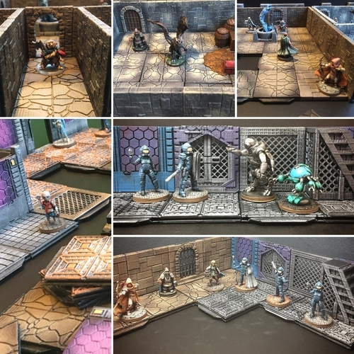 Z.O.D Terrain Tiles (Core Set) 3D Print 163849