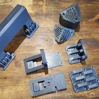 Small DIY SUITCASE PARTS 3D Printing 163892