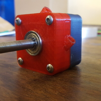Small Compressed air turbine 3D Printing 164007