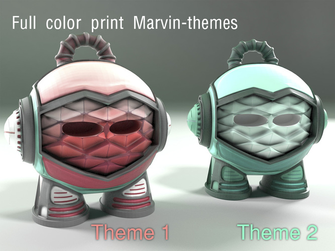 Marvin Advanced 3D Print 16408