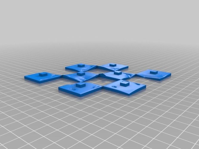 Martian-base Chess 3D Print 16432