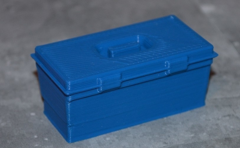 Set no.1 of three boxes, 1/10 scale 3D Print 164322