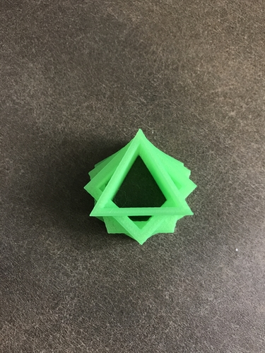 Triangle in a Square in a Pentagon in a Hexagon 3D Print 164415