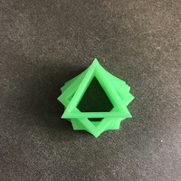 Small Triangle in a Square in a Pentagon in a Hexagon 3D Printing 164415