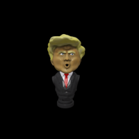 Small Trump Beer Tap Handle 3D Printing 164429