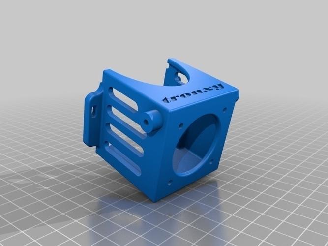 3D Printed Fan holder for Tronxy X3 by Алексей Кудряшов | Pinshape