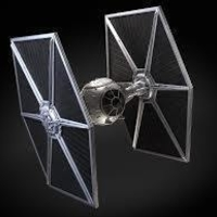Small simple tie fighter 3D Printing 164688