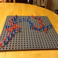 Small TwixT Game Full Size 3D Printing 164725