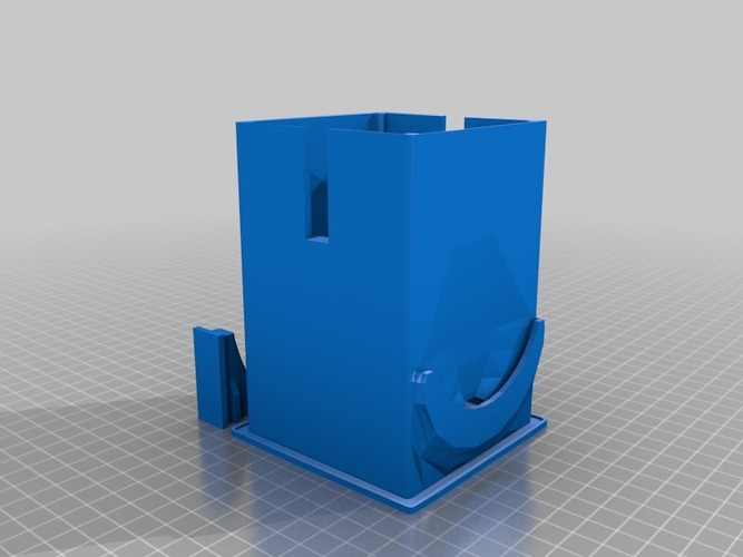 CoffeePad Trashcan (for Senseo) 3D Print 16488