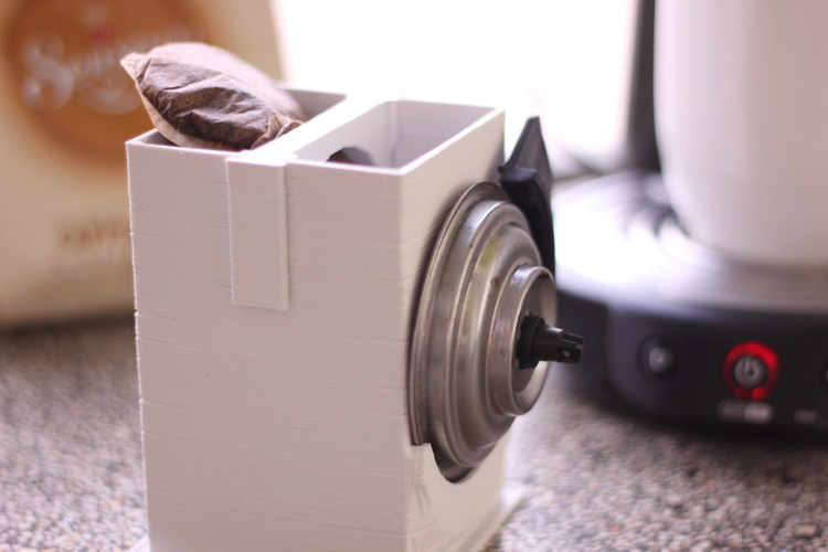 CoffeePad Trashcan (for Senseo) 3D Print 16490