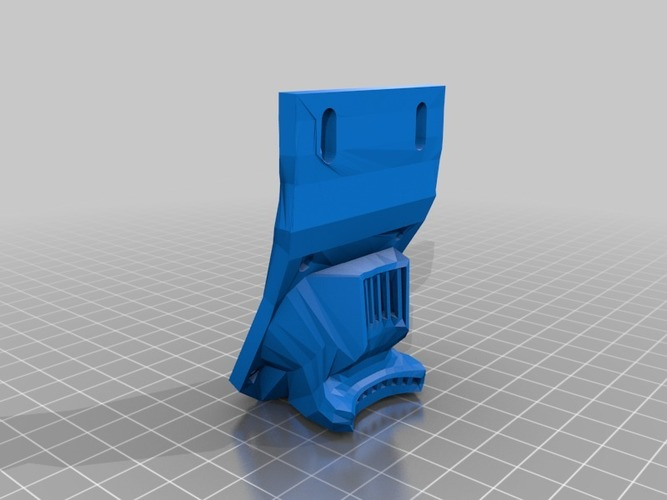 Makerfarm Ducted fan mound (30mm and 40mm) 3D Print 16498