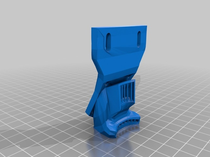 Makerfarm Ducted fan mound (30mm and 40mm) 3D Print 16501