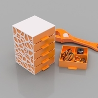 Small Economical Drawers 3D Printing 165139
