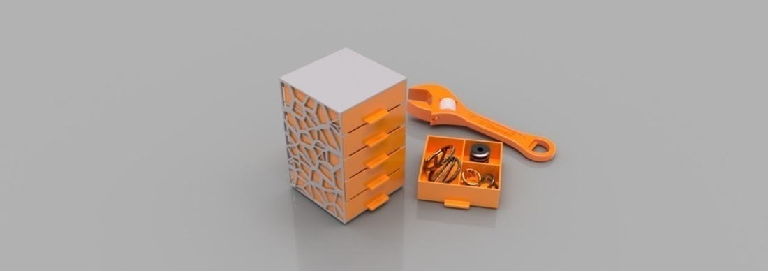 Economical Drawers 3D Print 165141