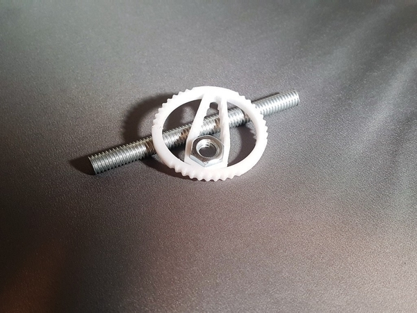 Medium Hex Wrench Keychain 3D Printing 165154