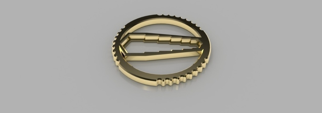 Hex Wrench Keychain 3D Print 165158