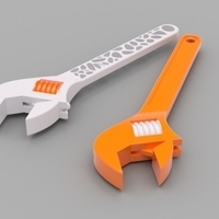 Small Crescent Wrench Pair 3D Printing 165160