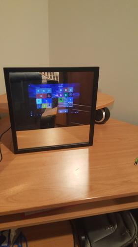 3d Printed Imirror Diy Smart Mirror By O3d Pinshape