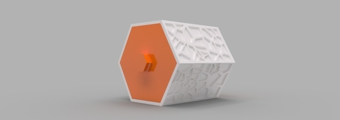 Modular Hex Drawers 3D Print 165190