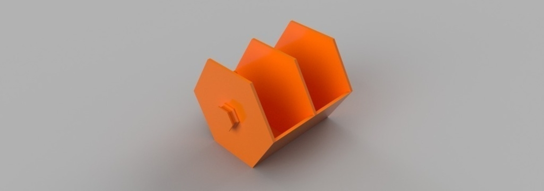 Modular Hex Drawers 3D Print 165192