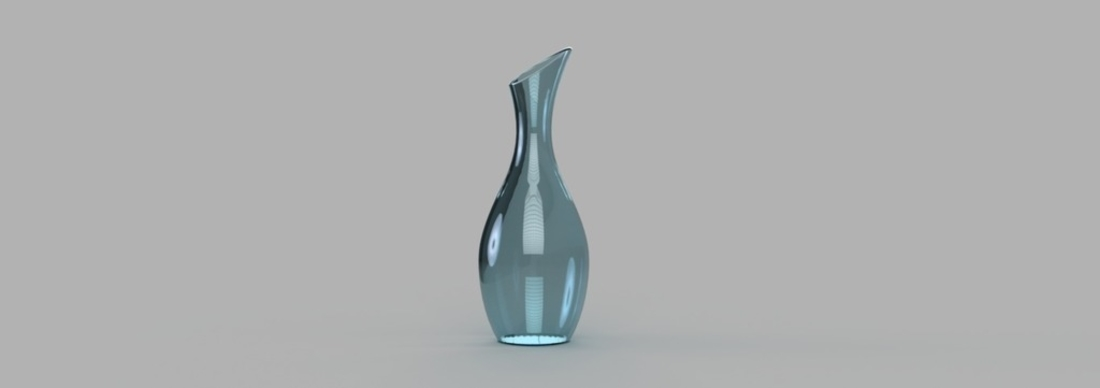 Contemporary Vase 3D Print 165197