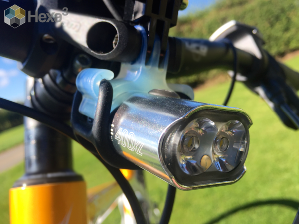 Medium Go Pro Style Mount for Bike Light 3D Printing 165320